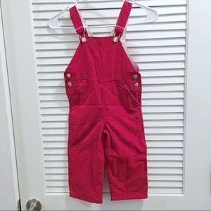 Kelly Kids corduroy overalls